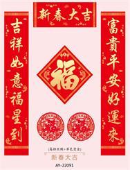 精装礼盒套装 AY-22091新春大吉